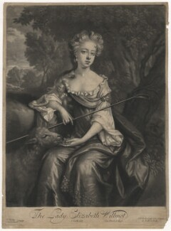 Elizabeth Montagu (née Willmot), Countess of Sandwich, by John Smith, after  Jan van der Vaart - NPG D4159