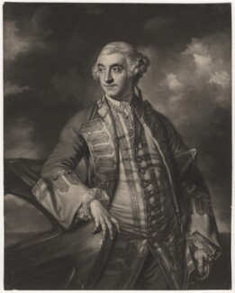 Sir Charles Saunders, by James Macardell, after  Sir Joshua Reynolds - NPG D4162