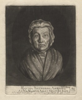 Martha Saunders, by Francis Edward Adams, published by  John Seago - NPG D4176