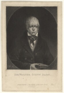 Sir Walter Scott, 1st Bt, by J.E., after  Unknown artist - NPG D4182