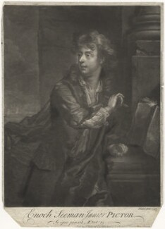 Enoch Seeman, by and published by John Faber Jr, after  Enoch Seeman - NPG D4188