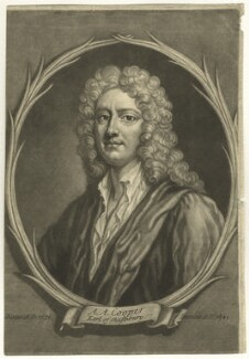 Anthony Ashley-Cooper, 3rd Earl of Shaftesbury, by Francis Kyte, after  Unknown artist - NPG D4190
