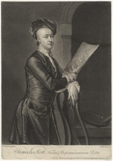 Samuel Scott, by and sold by John Faber Jr, after  Thomas Hudson - NPG D4197