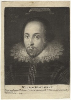 Unknown gentleman, possibly Sir Thomas Overbury, previously known as William Shakespeare, by Richard Earlom, after  Unknown Anglo-Netherlandish artist - NPG D4207