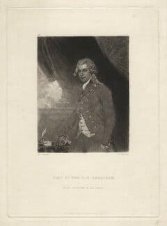 Richard Brinsley Sheridan, by Samuel William Reynolds, published by  Hodgson & Graves, after  Sir Joshua Reynolds - NPG D4216