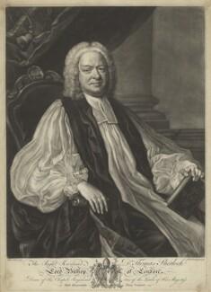 Thomas Sherlock, by James Macardell, after  Jean Baptiste van Loo - NPG D4219