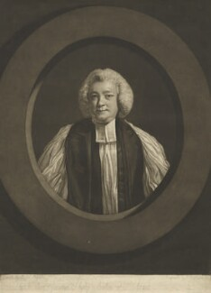 Jonathan Shipley, by John Raphael Smith, after  Sir Joshua Reynolds - NPG D4220