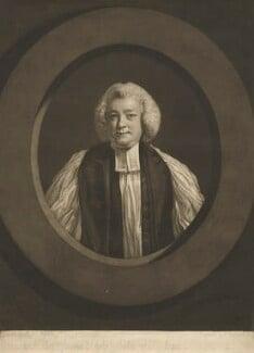 Jonathan Shipley, by John Raphael Smith, after  Sir Joshua Reynolds, published 1777 - NPG D4220 - © National Portrait Gallery, London