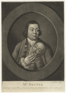 Edward Shuter, by and published by Philip Dawe, and  William Darling - NPG D4238