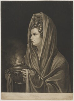 Mrs Sidney, by John Raphael Smith, after  Richard Cosway - NPG D4242
