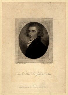 Sir John Sinclair, 1st Bt, by Thomas Hodgetts and Son, published by  Henry Colburn, published by  Richard Bentley, after  Andrew Plimer - NPG D4255
