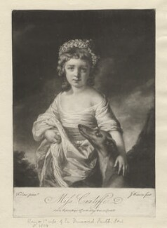 Mary Smith (née Cunliffe), by James Watson, sold by  Ryland and Bryer, after  Francis Cotes - NPG D4270