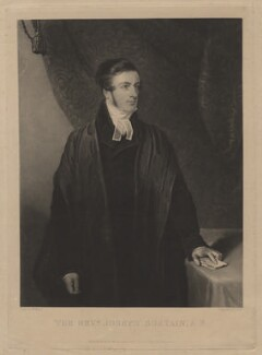 Joseph Sortain, by Henry Edward Dawe, published by  William Henry Mason, after  Hardy - NPG D4276