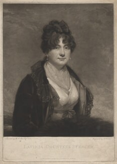 Lavinia Spencer (née Bingham), Countess Spencer, by Charles Turner, published by  Robert Cribb & Son, after  Sir Martin Archer Shee - NPG D4282