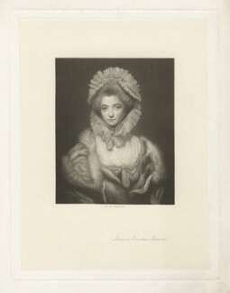 Lavinia Spencer (née Bingham), Countess Spencer, by Charles Algernon Tomkins, after  Sir Joshua Reynolds - NPG D4283