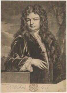 Sir Richard Steele, by John Faber Jr, after  Sir Godfrey Kneller, Bt - NPG D4298