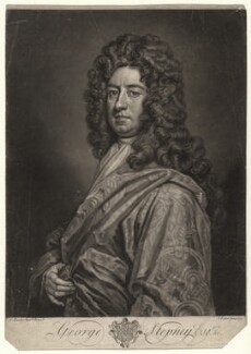 George Stepney, by John Faber Jr, after  Sir Godfrey Kneller, Bt - NPG D4313