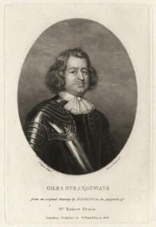 Giles Strangeways, by Charles Turner, after  David Loggan - NPG D4322