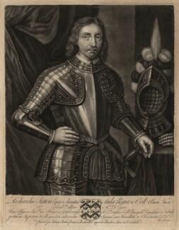 Sir Richard Sutton, by John Faber Sr, after  Unknown artist - NPG D4337