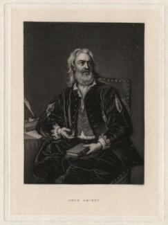 Owen MacSwinny (or Swinny), by Robert Bowyer Parkes, after  Jean Baptiste van Loo - NPG D4342