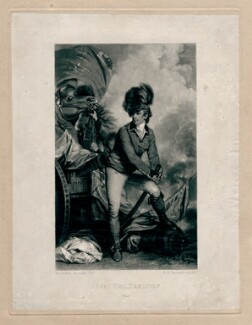 Sir Banastre Tarleton, Bt, by Samuel William Reynolds, after  Sir Joshua Reynolds, published 1820 or after (1782) - NPG D4350 - © National Portrait Gallery, London