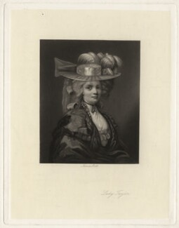 Elizabeth Godden (née Houghton), Lady Taylor, by James Scott, after  John Hoppner, 1850s-1880s - NPG D4353 - © National Portrait Gallery, London
