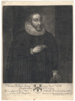 Thomas Tesdale, by John Faber Sr, after  Unknown artist - NPG D4359
