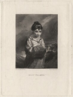 Theophila Gwatkin (née Palmer), by Samuel William Reynolds, published by  Henry Graves & Co, after  Sir Joshua Reynolds - NPG D4361