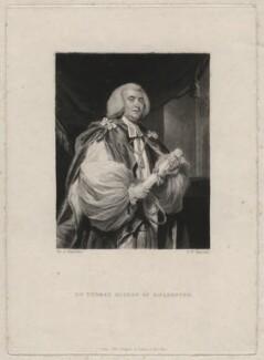 John Thomas, by Samuel William Reynolds, after  Sir Joshua Reynolds - NPG D4365
