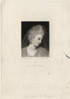 Mary (née Palmer), Marchioness of Thomond, by Samuel William Reynolds, after  Sir Joshua Reynolds - NPG D4366
