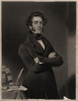 George Thompson, by Charles Turner, after  George Evans, published 1842 - NPG D4367 - © National Portrait Gallery, London