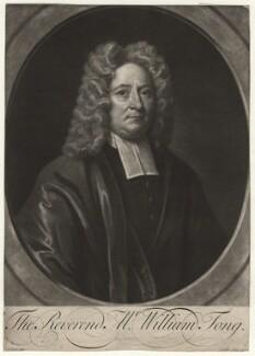 William Tong, by John Simon, after  John Wollaston, circa 1710-1730 - NPG D4370 - © National Portrait Gallery, London