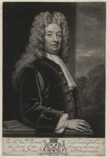 Thomas Newport, Baron Torrington, by John Smith, after  Sir Godfrey Kneller, Bt - NPG D4373