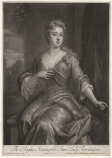 Anne Newport (née Pierrepont or Pierpont), Lady Torrington, by John Smith, after  Sir Godfrey Kneller, Bt - NPG D4377