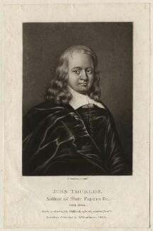 John Thurloe, by Robert Dunkarton, after  William Dobson - NPG D4381