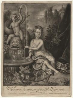 James Thynne, by William Faithorne Jr, published by  John Bowles, after  Johann Kerseboom - NPG D4382