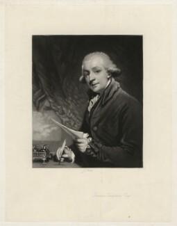 Thomas Tomkins, by James Scott, after  Sir Joshua Reynolds - NPG D4387