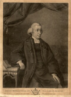 Augustus Montague Toplady, by John Raphael Smith - NPG D4390