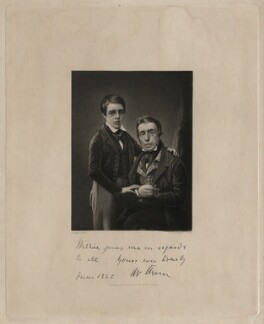 Mr Thom; Willie Thom, by Robert Moore Hodgetts, after a daguerreotype by  Antoine Claudet - NPG D4392