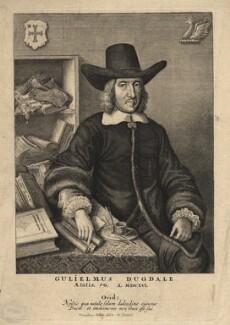 Sir William Dugdale, by Wenceslaus Hollar - NPG D4395