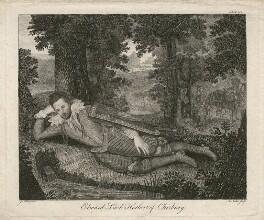 Edward Herbert, 1st Baron Herbert of Cherbury, by Anthony Walker, after  Isaac Oliver - NPG D4397