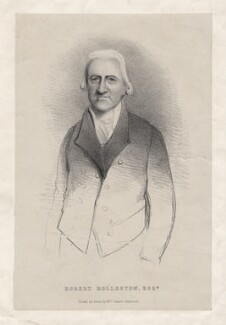 Robert Rolleston, by Mrs James Alderson - NPG D4401