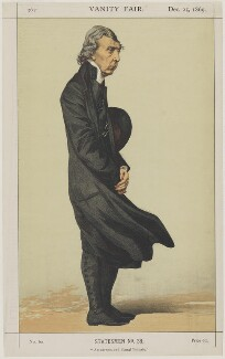 Archibald Campbell Tait ('An earnest and liberal Primate'), by James Jacques Tissot, published 25 December 1869 - NPG D4405 - © National Portrait Gallery, London