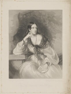 Lady Emmeline Stuart-Wortley (née Manners), by Frederick Christian Lewis Sr, after  Sir Francis Grant - NPG D4413