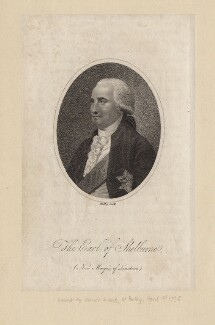 William Petty, 1st Marquess of Lansdowne (Lord Shelburne), by Riley, after  Unknown artist - NPG D4419