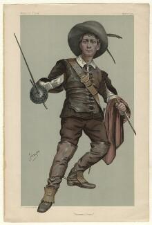 Lewis Waller (William Waller Lewis), by Julius Mendes Price ('Imp') - NPG D4421