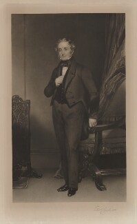 Thomas Cubitt, by George Raphael Ward, after  Henry William Pickersgill - NPG D4424