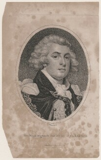 King William IV when Duke of Clarence, by John Chapman, after  Unknown artist - NPG D4425