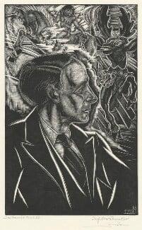Lord David Cecil, by Stefan Mrozewski - NPG D4436