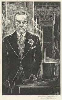 Sir (Joseph) Austen Chamberlain, by Stefan Mrozewski - NPG D4441